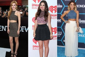 celebrities-in-high-waisted-skirts-and-crop-tops