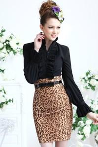 leopard-print-high-waist-tulip-skirt