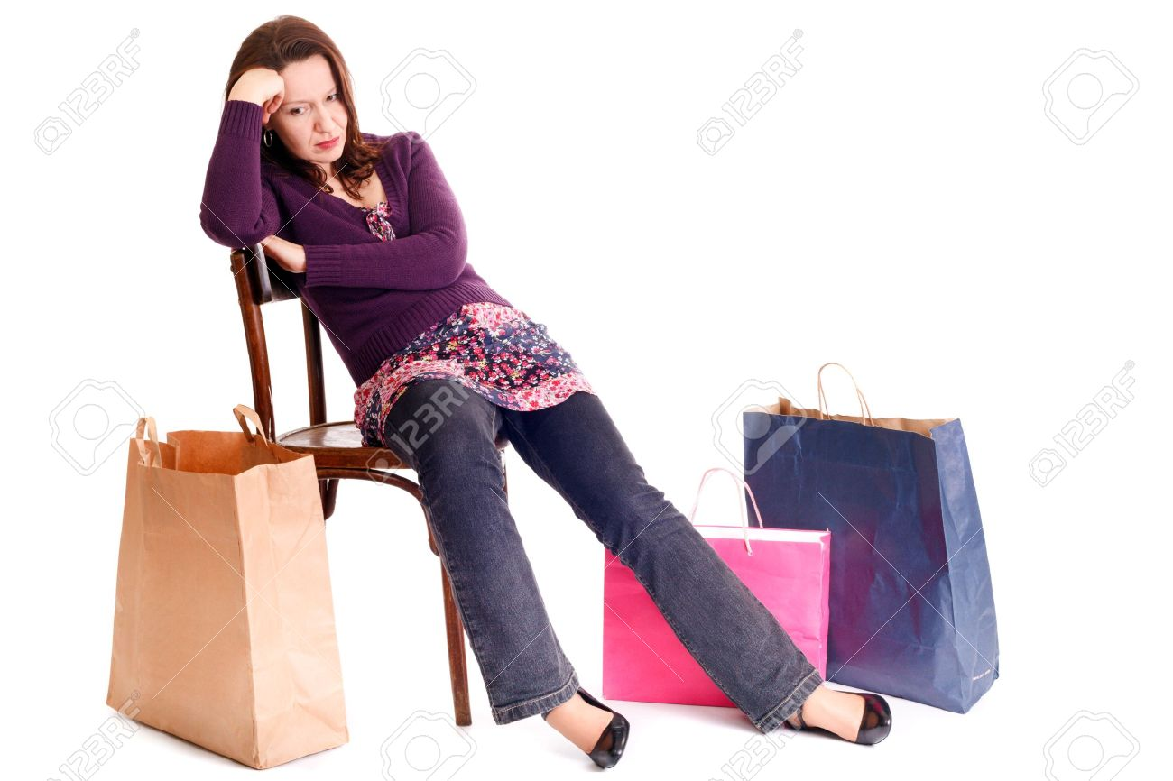 Image result for shopping unhappy