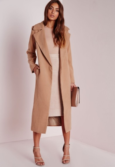 missguided-oversized-camel-coat